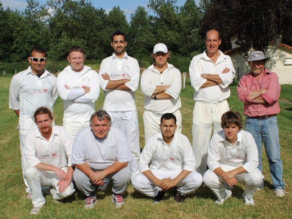 The Mansle team July 2012